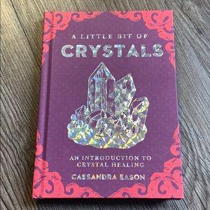 A little bit of crystals book by cassandra eason